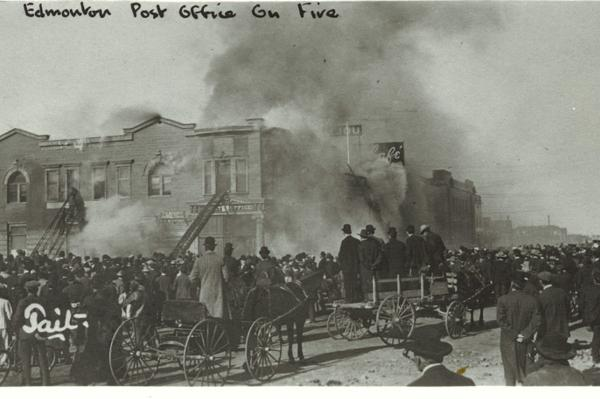 edmonton firefighters union history